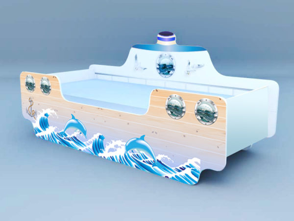 Кровать Кораблик 2