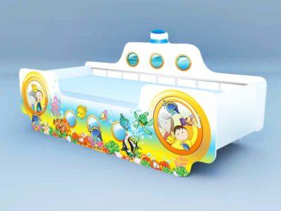 Кровать Кораблик 4