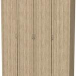Шкаф для белья со штангой и полками Гарун 109
