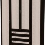 Шкаф для белья со штангой и полками Гарун 110