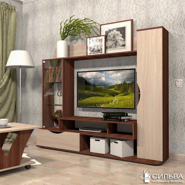 """НМ 014.51 """"Николь-2"""" тумба под телевизор"""
