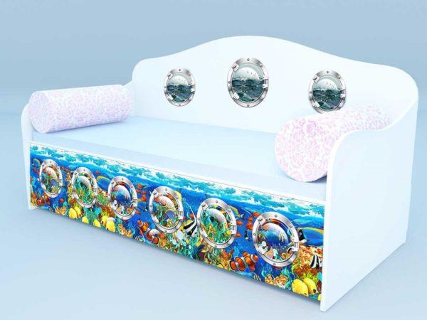 Диван - кровать рыбки