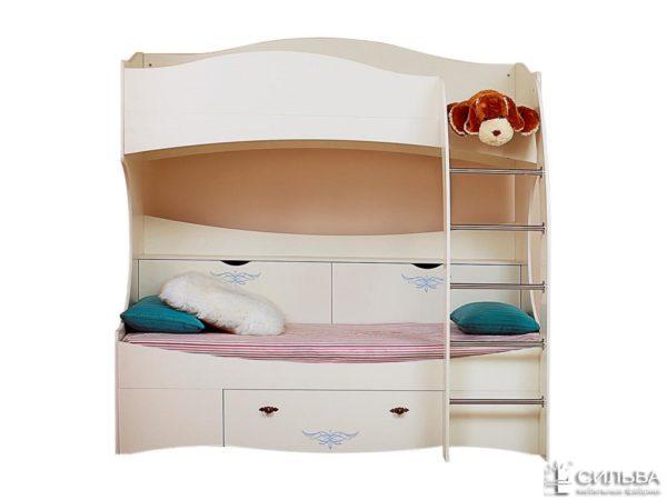 Кровать 2-х ярусная Прованс НМ 008.31-03