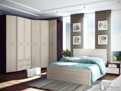 Спальня Браво Комплектация 1
