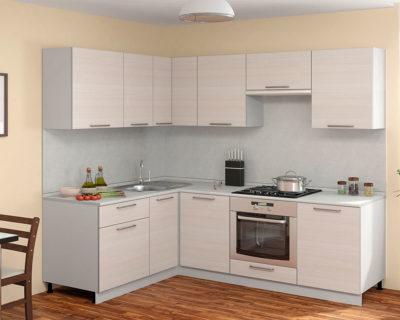 Кухня Симпл Прямой угол 1600х2200 мм