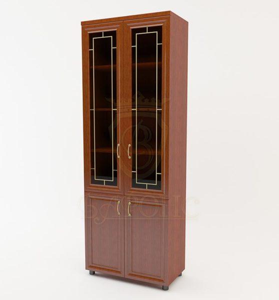 Шкаф витрина 4 двери 800