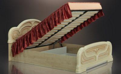 Кровать с подъёмным механизмом Европа-11