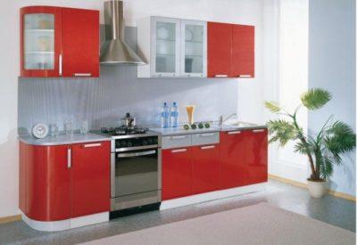 "Кухонный гарнитур ""Классика"" с гнутыми фасадами 2335 мм"