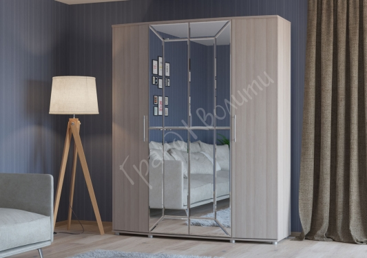 Шкаф 4-х дверный 4-5200 Амели