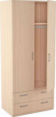 Шкаф для одежды 2-х дверный Лотос 5.28