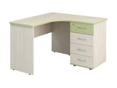 Детская Акварель стол письменный угловой 53.13