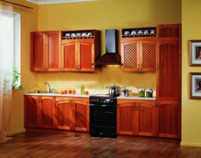 Кухня Массив-Люкс 2900