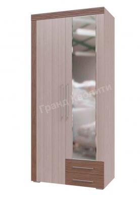 Шкаф 2-х дверный с ящиками Азалия 4-4810