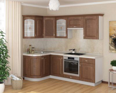Кухня Массив-Люкс 1335х1600