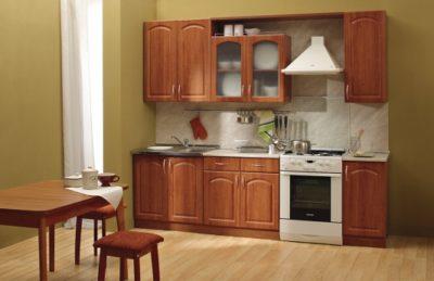 "Кухня Трапеза ""Классика"" с карнизом 2600 мм"