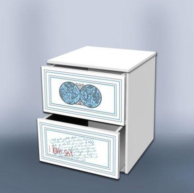 Тумба с ящиками Кусто