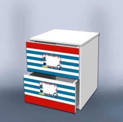 Тумба с ящиками Отважный моряк