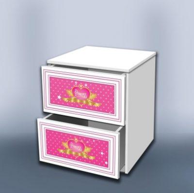 Тумба с ящиками Принцесса
