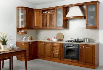 Кухня Массив-Люкс 1335х2500