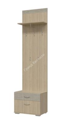 Шкаф с вешалкой Квинта 2-3502