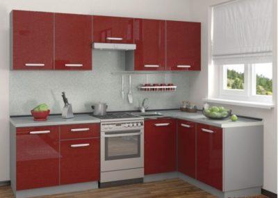Кухня Симпл угловая 2700 х 1500