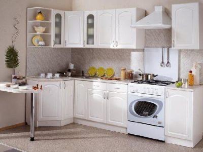 Кухня Трапеза Классика угловая 1200х2100 мм