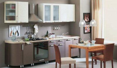 Кухня Трапеза Классика 2335 с гнутыми фасадами