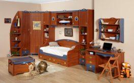 Детская комната Колумбус (вишня)1